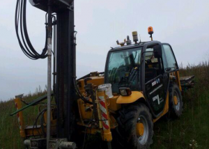 MS14 Project Hilversum schuin op talud
